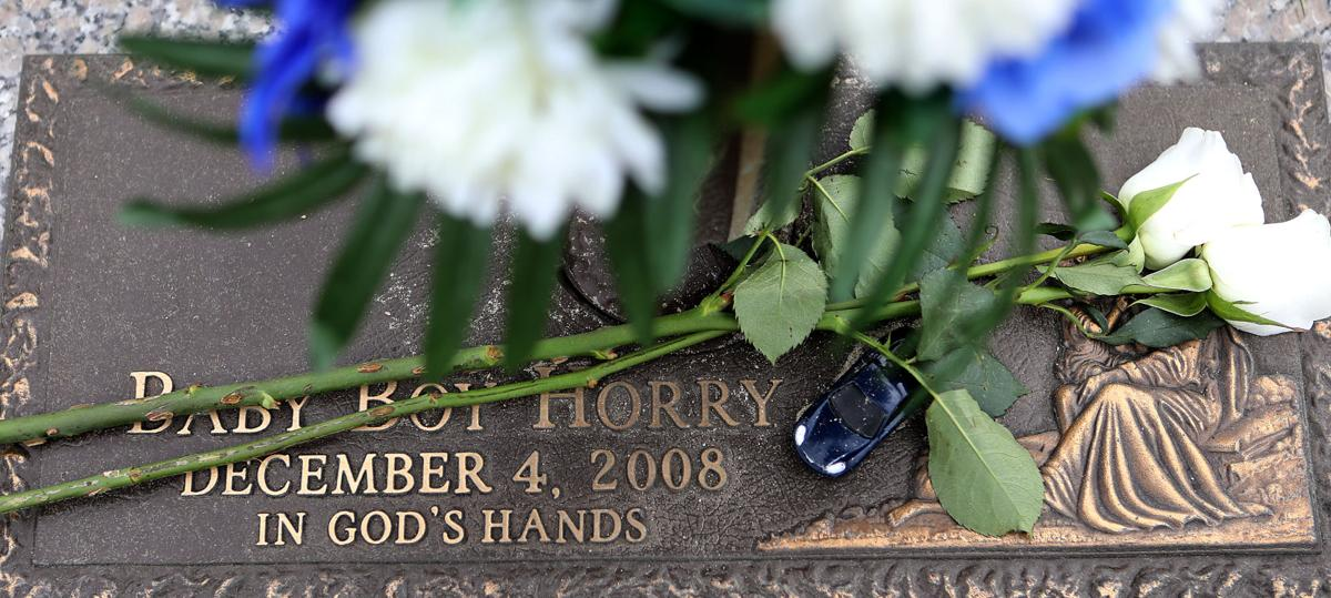 Baby Boy Horry grave