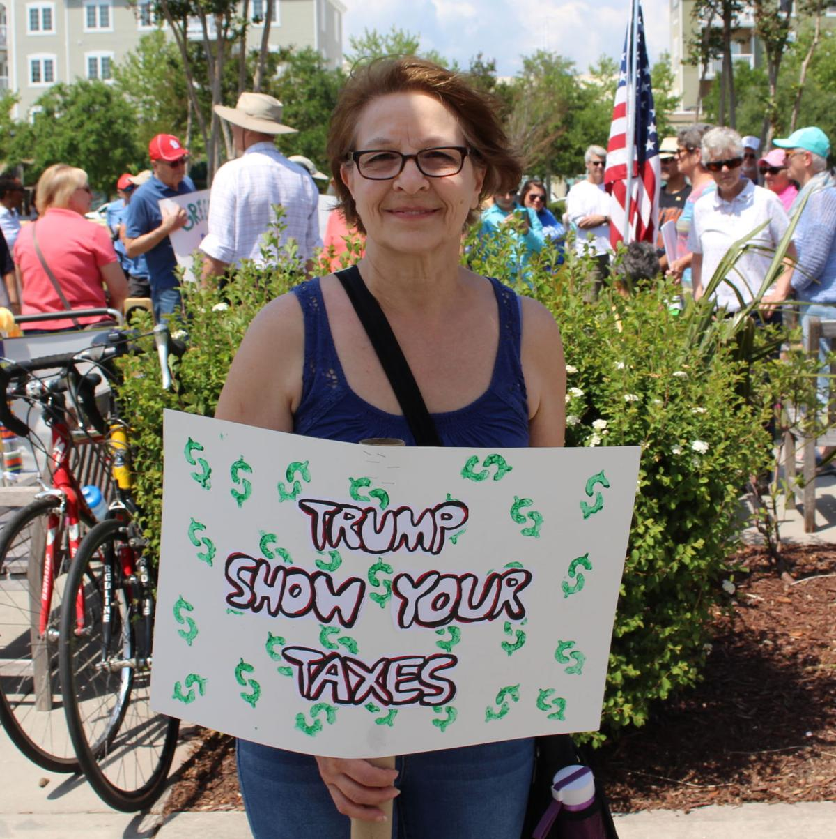 Myrtle Beach Protesters Demand Transparency From President