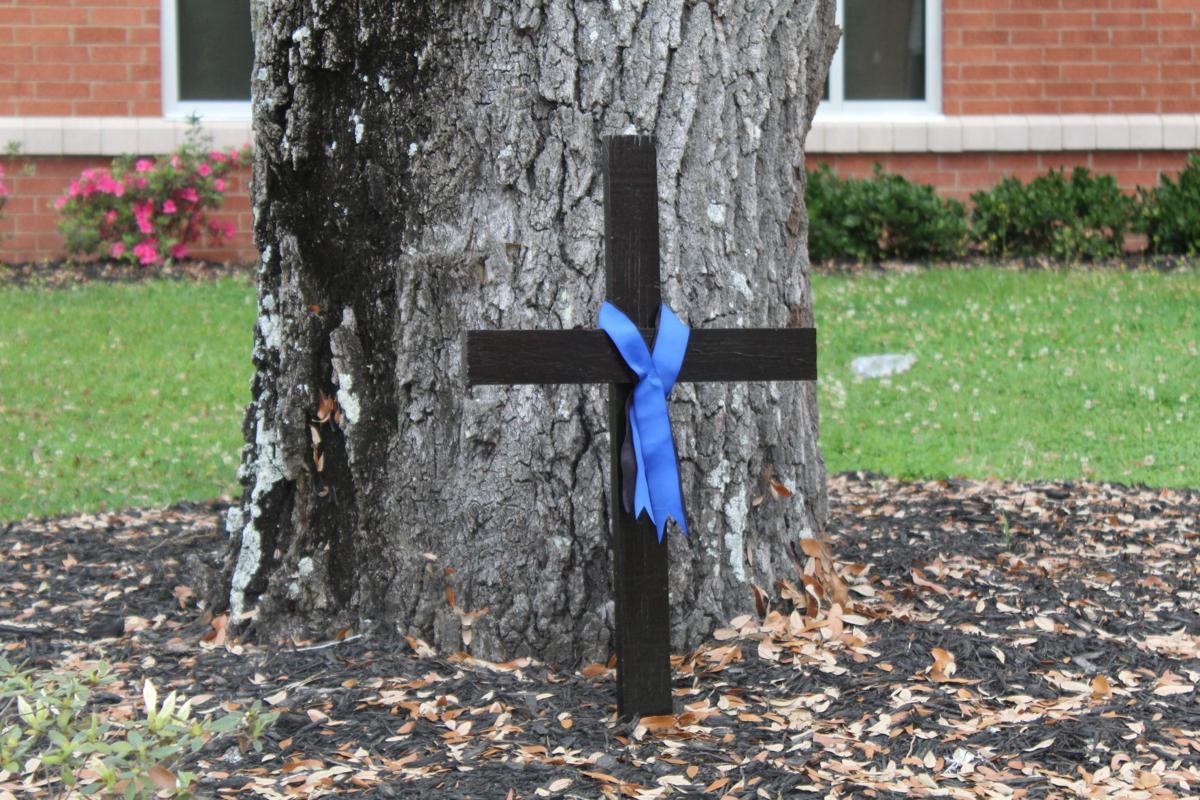 Odell Cochran's cross