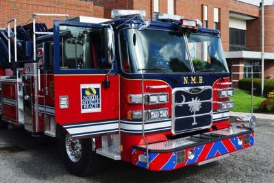 North Myrtle Beach fire truck