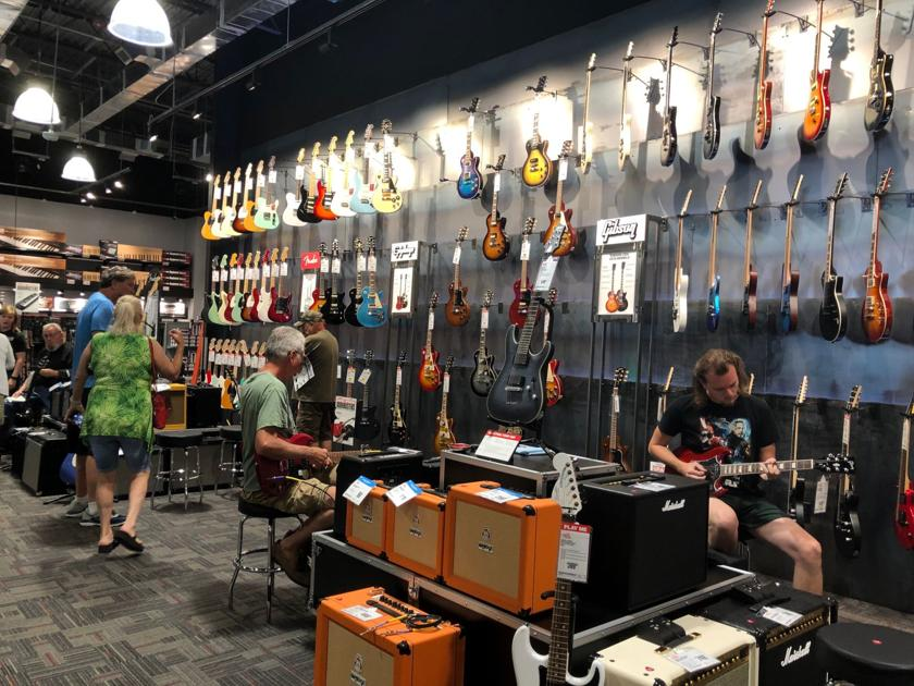 first guitar center on the grand strand opens in north myrtle beach local news. Black Bedroom Furniture Sets. Home Design Ideas