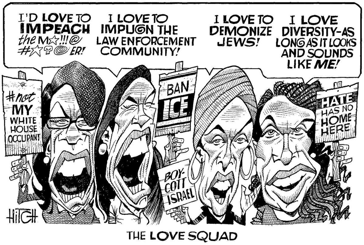 The Squad | Editorial Cartoons | myhorrynews com