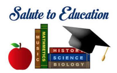 Salute to Education logo 2020