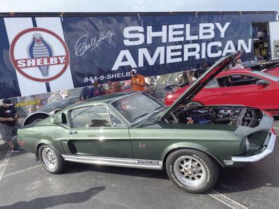 Mustang Week car
