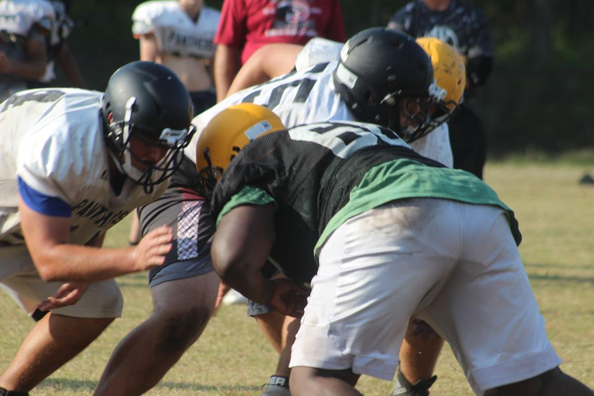 Panthers in the trenches in spring practice 2019