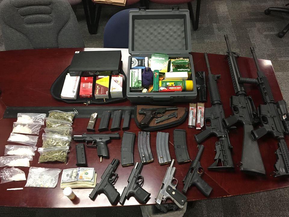 Hcpd Arrest Three Drugs Guns Cash Seized Crime Myhorrynewscom