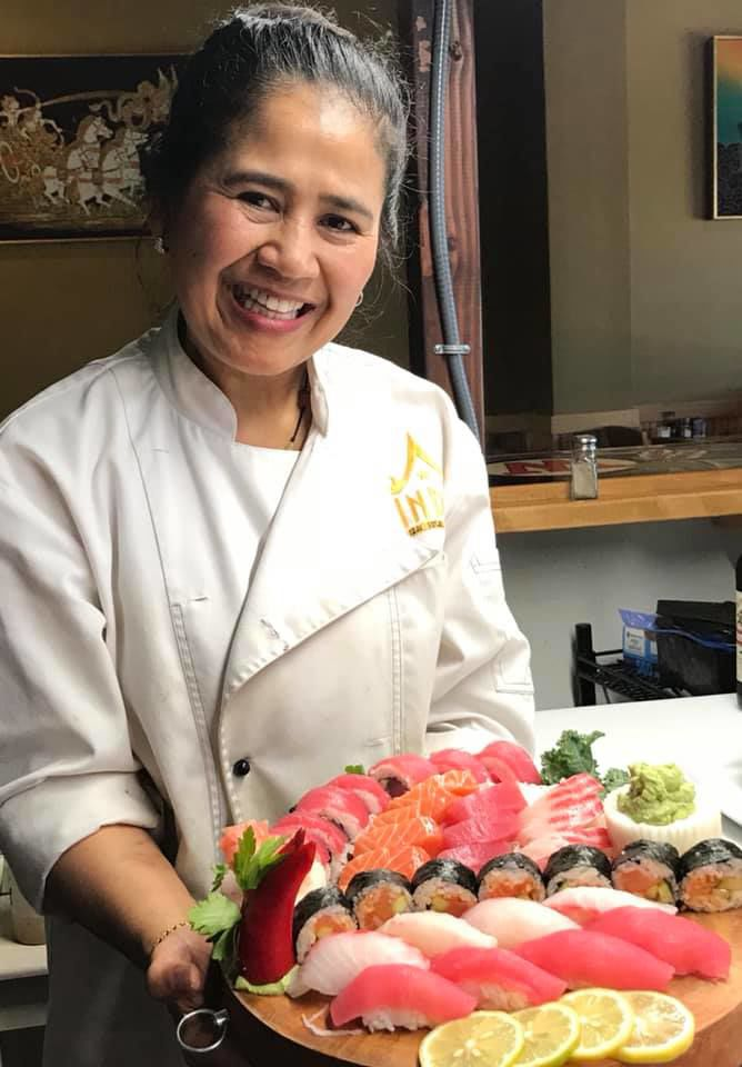 Indo Asian Bistro & Sushi serves authentic food from around world