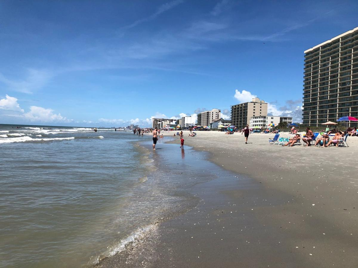 North Myrtle Beach Reopens Its Beaches