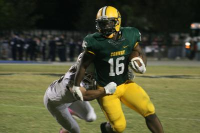 Conway thumps Socastee