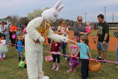 A Bunny handshake