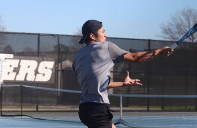 CCU men's tennis