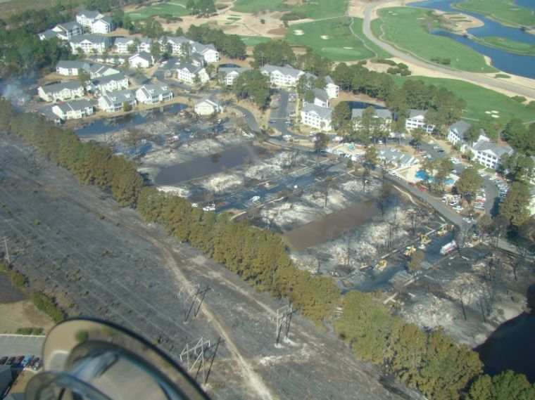 Human Activity Caused Carolina Forest Woods Fire Myhorrynews