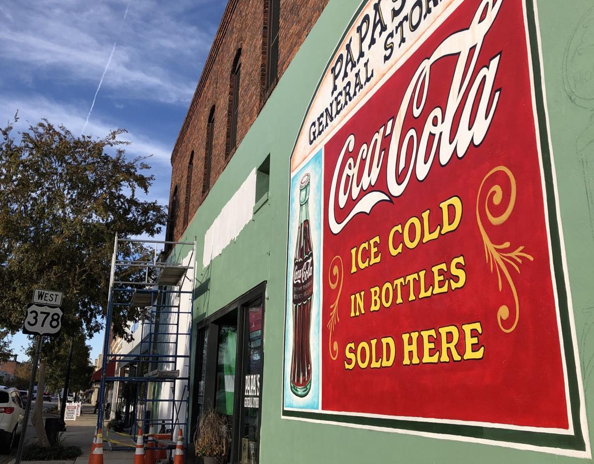 pic Coca Cola mural