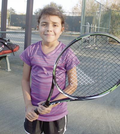 Conway girl finds her niche on the tennis court