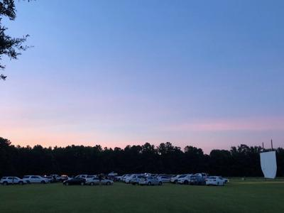 Drive-in movies at Thompson Farm