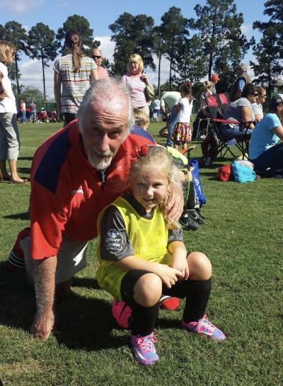 Paul Banta and granddaughter Parker