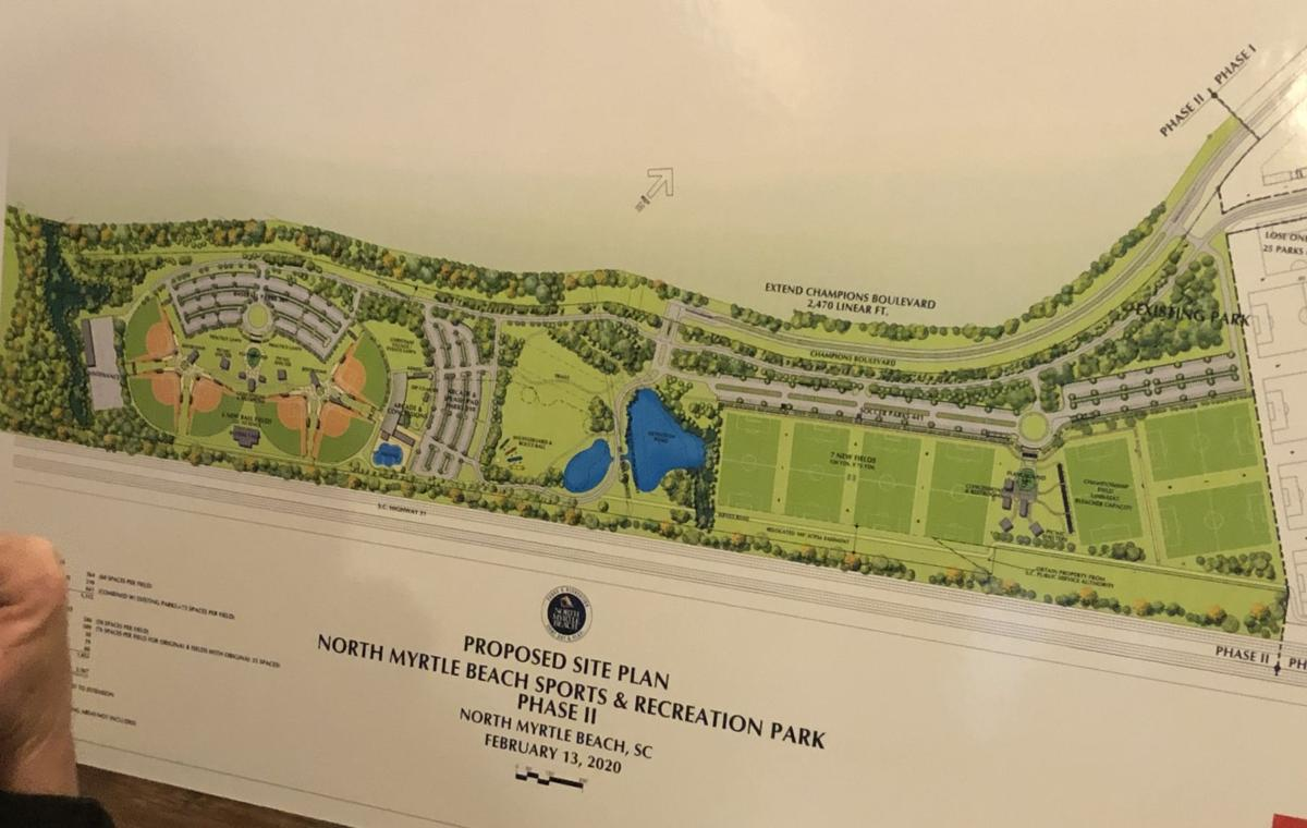 North Myrtle Beach proposes tax increase to pay for park expansion, arcade, interactive obstacle course
