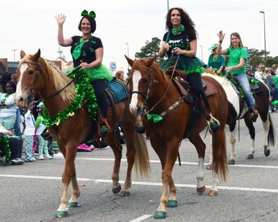 St. Paddy's Horses North Myrtle Beach