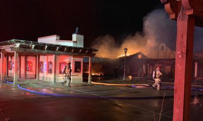 HCFR Freestyle Park fire