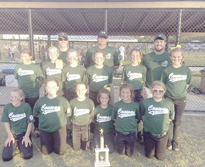 Conway all-stars finish second in Dixie Angels district tournament