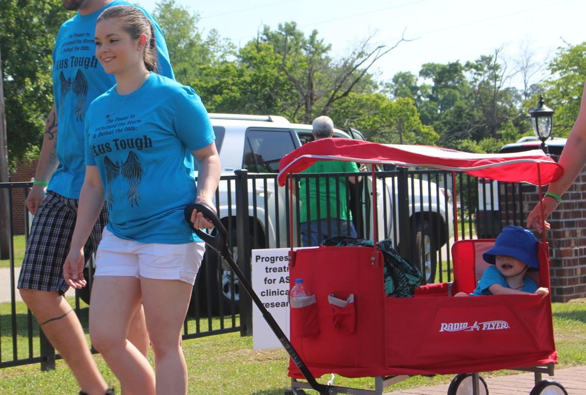 Walk aims to increase awareness of Angelman syndrome, raise funds for nonprofit