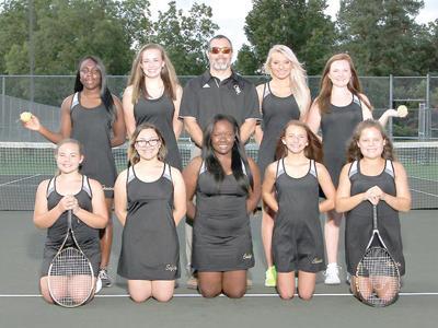 GSF Lady Trojans tennis team