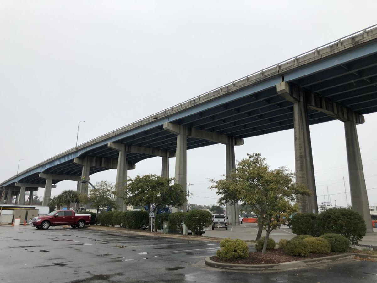 The Highway 17 bridge over the Intracoastal