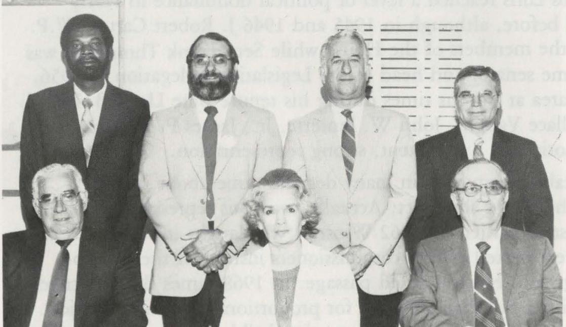 Loris City Council 1987