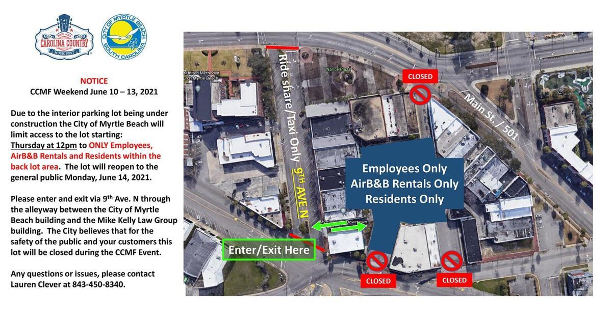 CCMF parking 2021