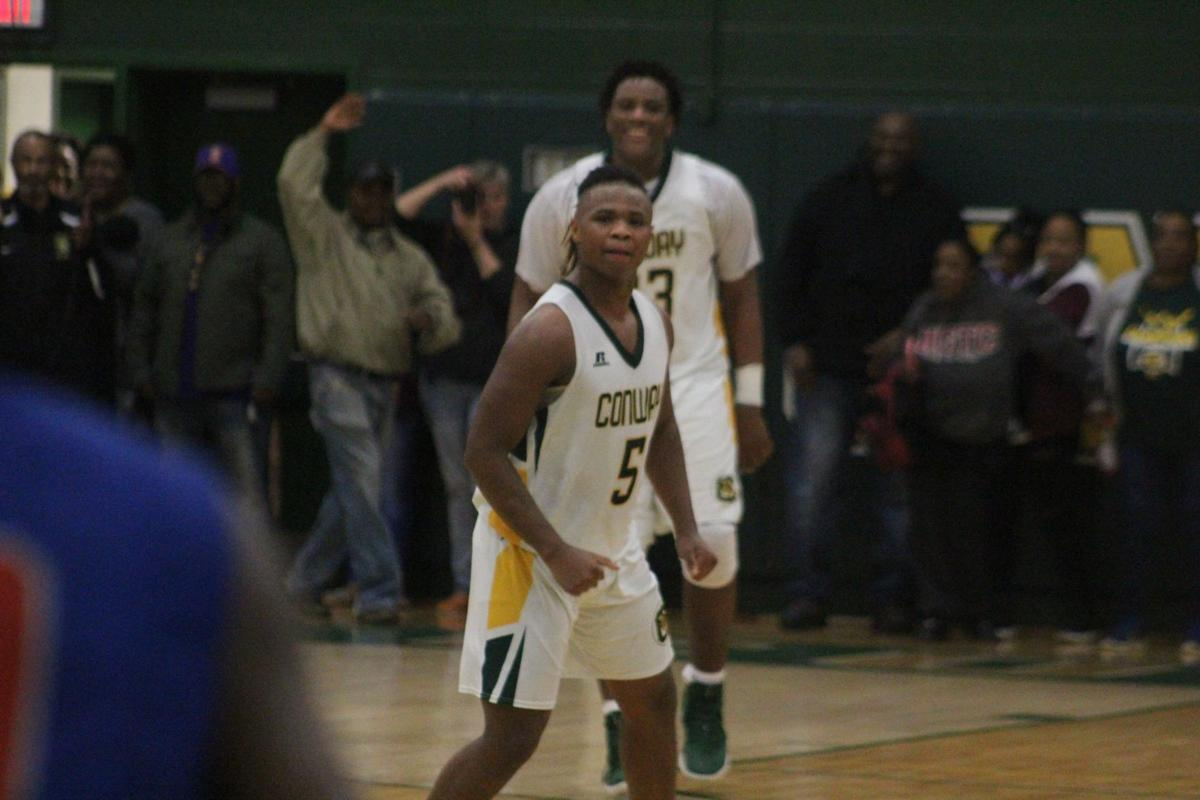 Conway tops James Island