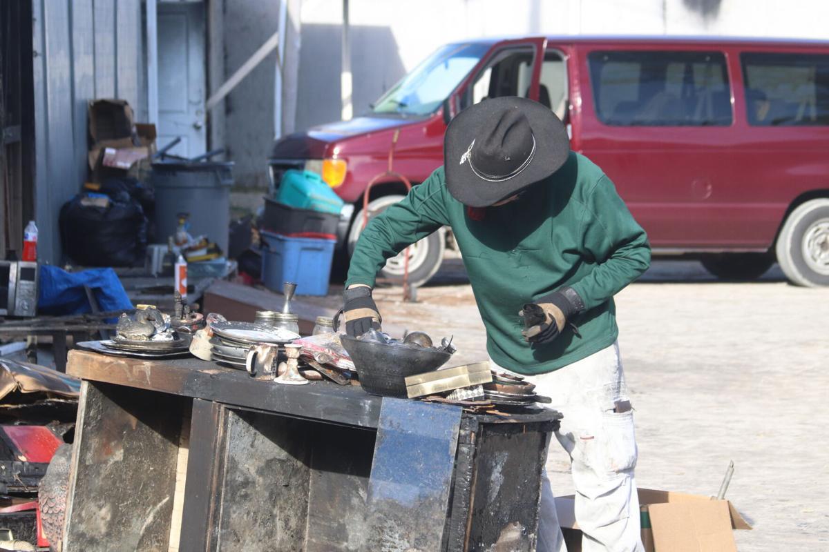 Vendors recover from NMB flea market fire ILB 1