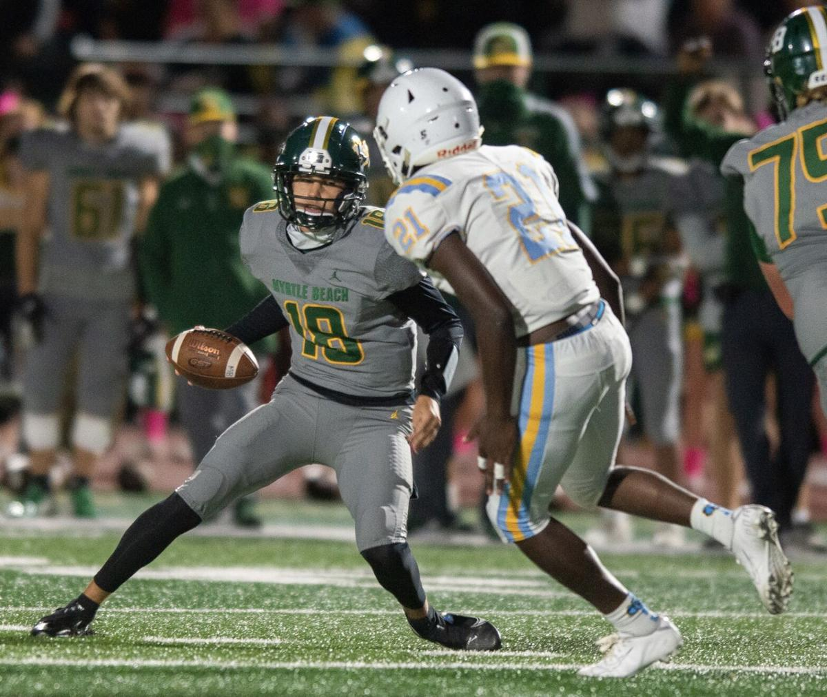 Myrtle Beach overpowers South Florence