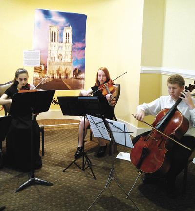 Long Bay Symphony violinists
