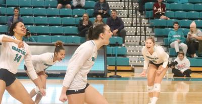 CCU wins volleyball division title