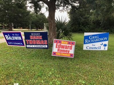 North Myrtle Campaign Signs