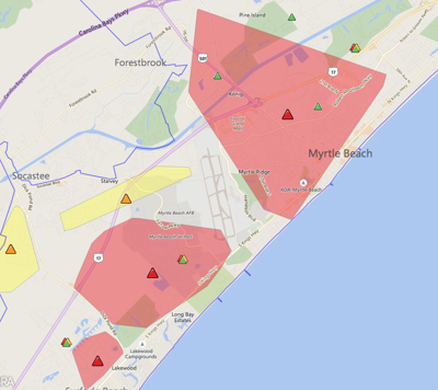 Update Power Restored For Thousands In Horry County Horry County