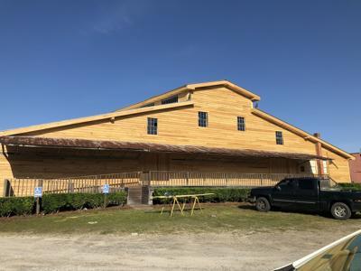 peanut warehouse new siding