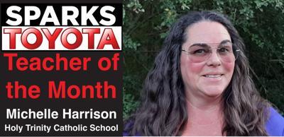 Michelle Harrison: September Sparks Toyota Teacher of the Month