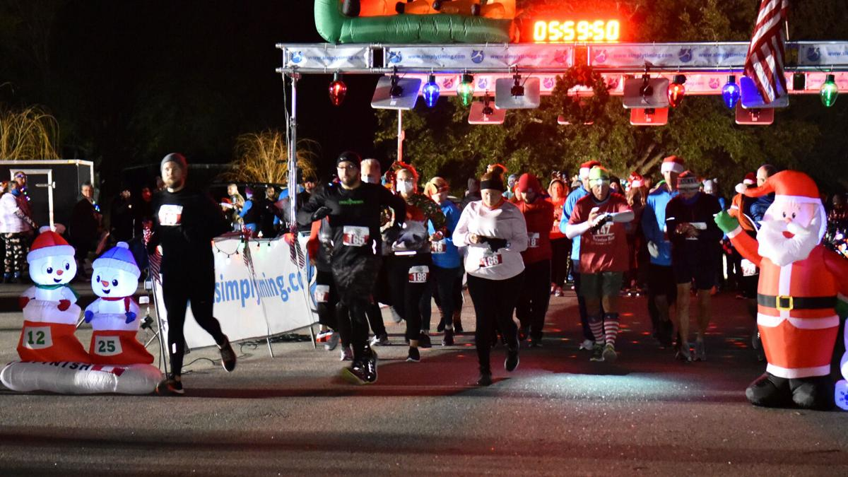 Under the Lights 5K -- they're off