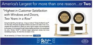 Top honors for Window World