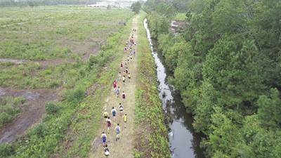 Carolina Forest walking trail
