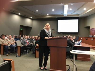 Angie Jones at Horry County Council