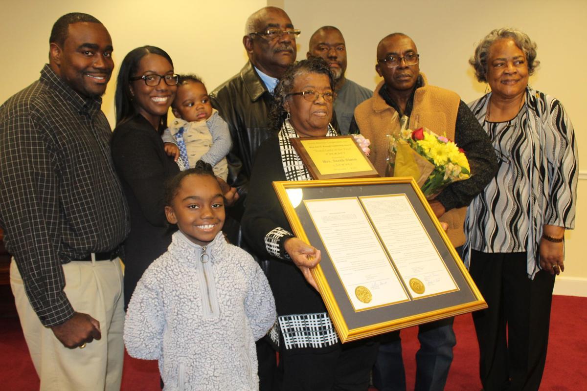 Sarah Dixon and family