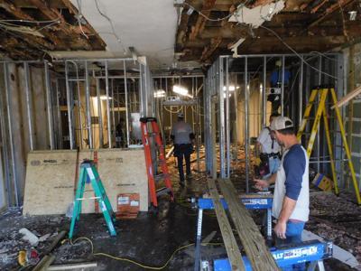City Hall repairs