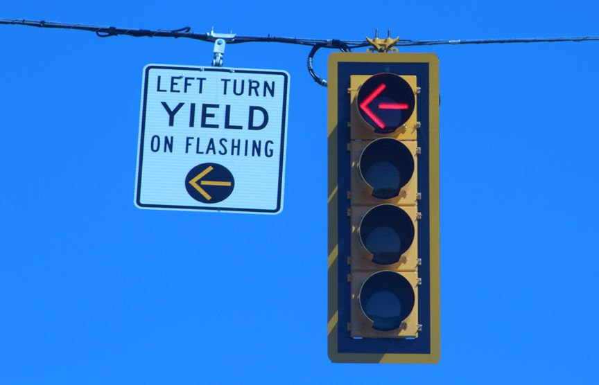 New Traffic Signals That Include Flashing Yellow Lights Have Been Installed  Throughout The Carolina Forest Area.