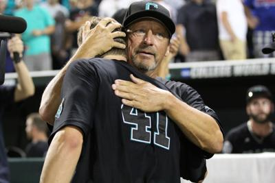 Beckwith, Gilmore embrace