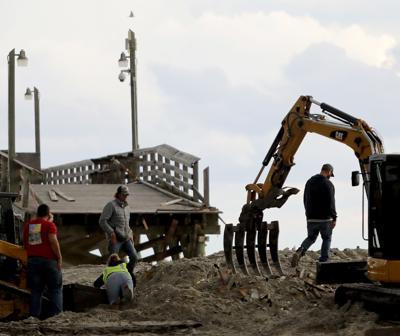 Surfside Beach pier demolished