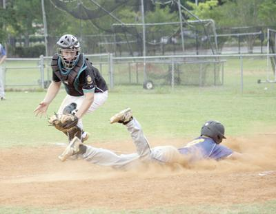 Post 111 wins over West Columbia, 8-7