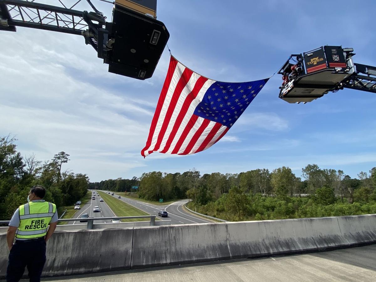 Robert M. Grissom bridge flag