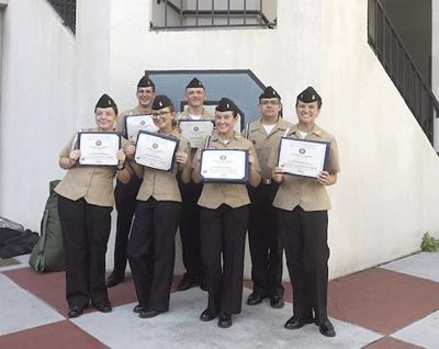 CF high school cadets